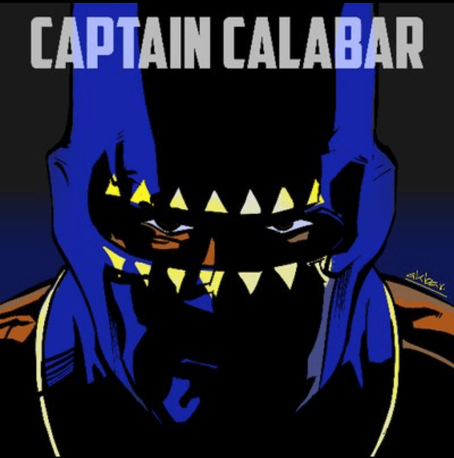 The introduction of Akbar Comics: Captain Calabar